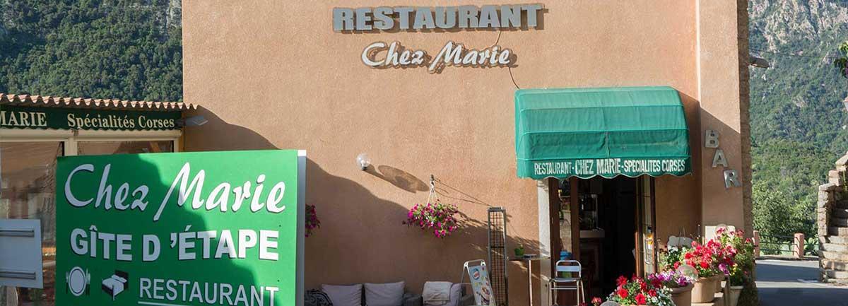 Accueil Gite Chez Marie 20150 OTA